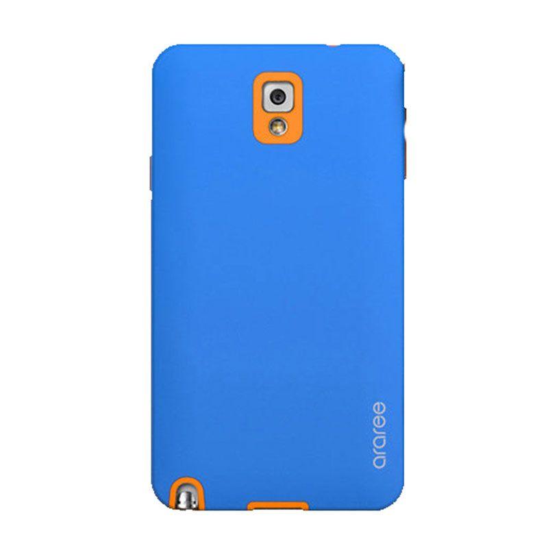 Araree Korean Cute Biru Oranye Casing for Samsung Galaxy Note 3