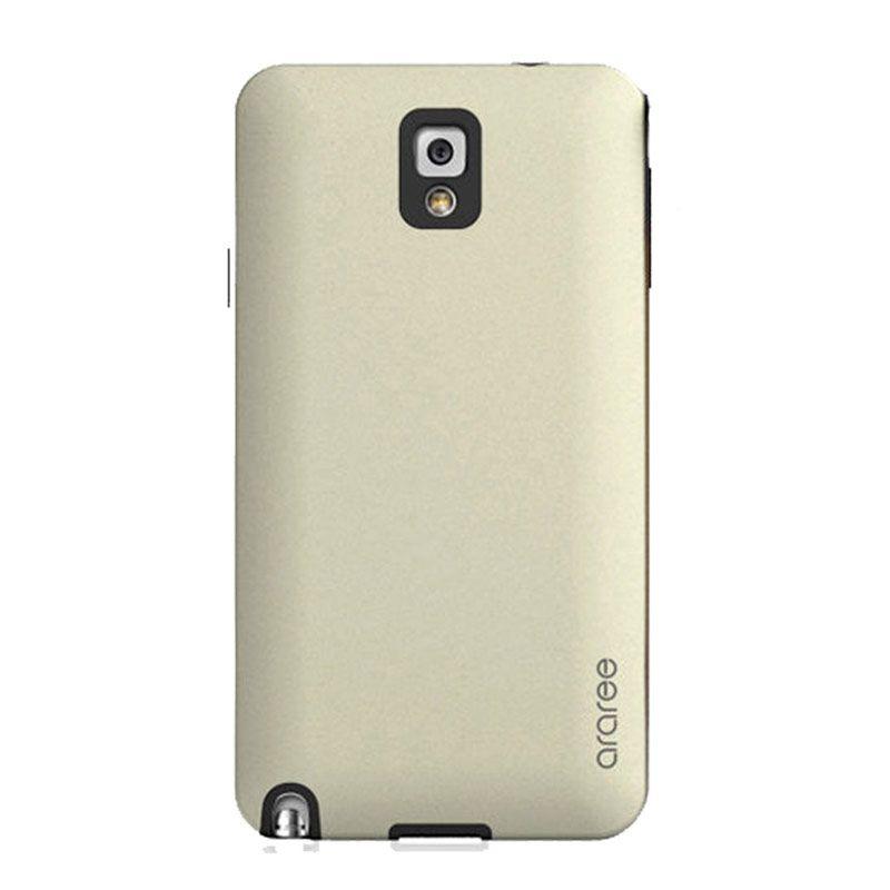Araree Korean Cute Gold Hitam Casing for Samsung Galaxy Note 3