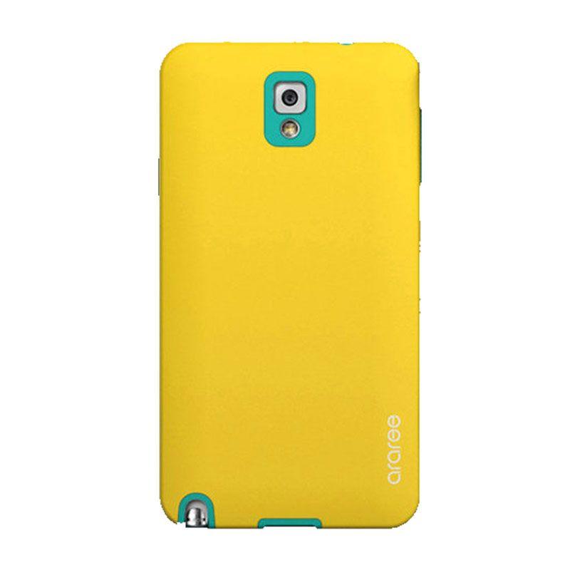 Araree Korean Cute Kuning Hijau Casing for Samsung Galaxy Note 3