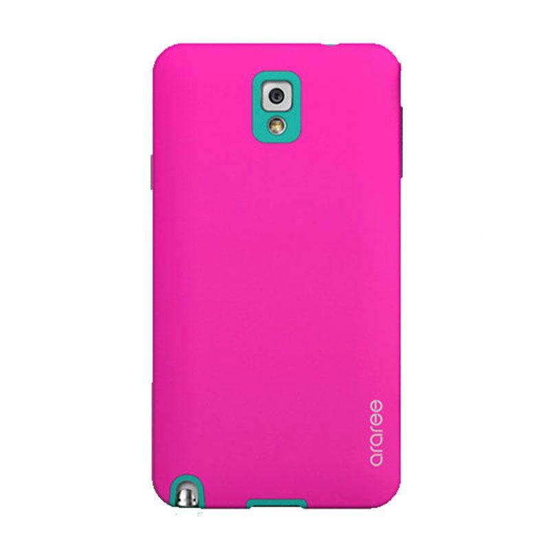 Araree Korean Cute Pink Hijau Casing for Samsung Galaxy Note 3