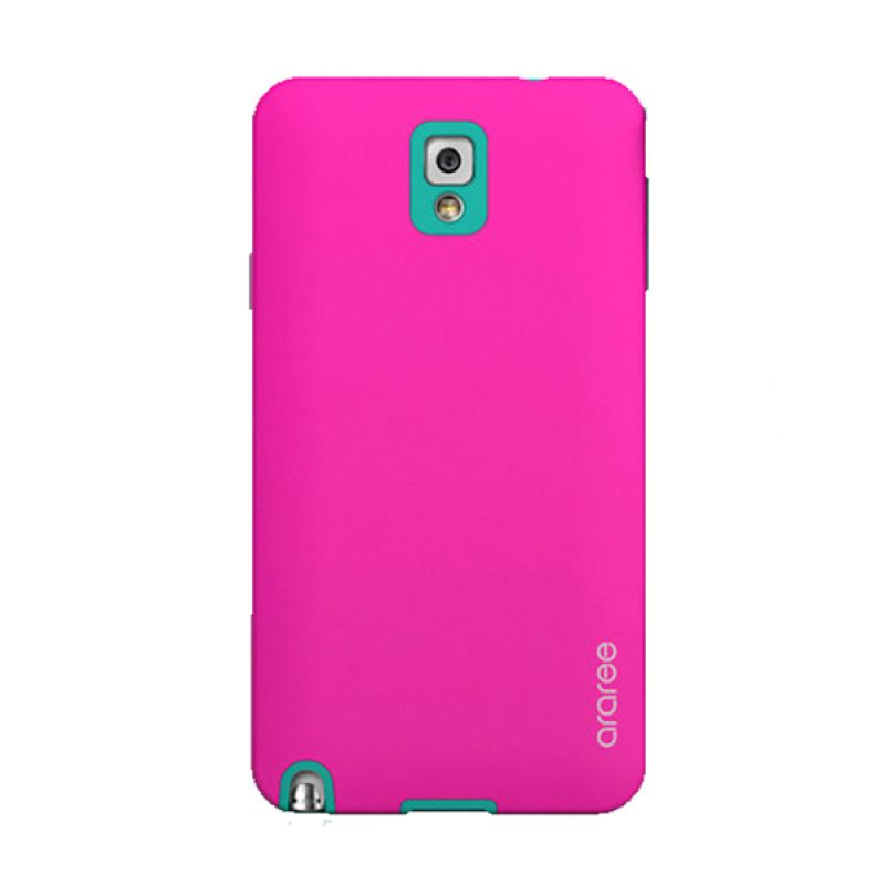 Araree Korean Cute Pink Hijau Casing for Samsung Galaxy Note 3