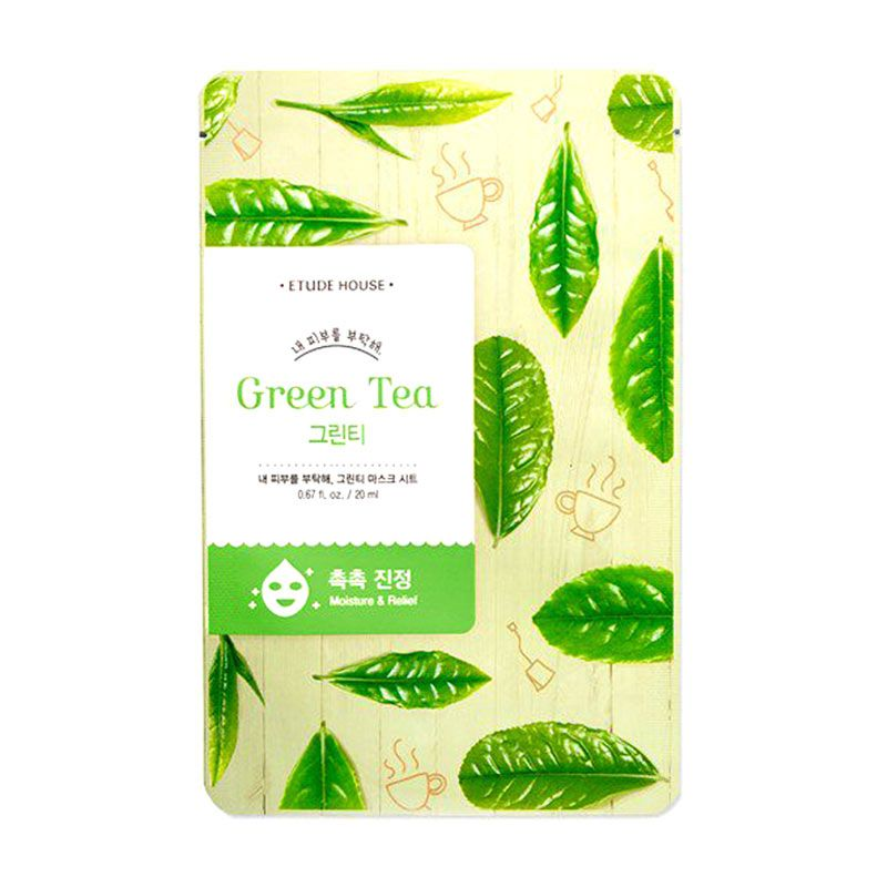 Etude Take Care of My Skin Green Tea Masker Wajah