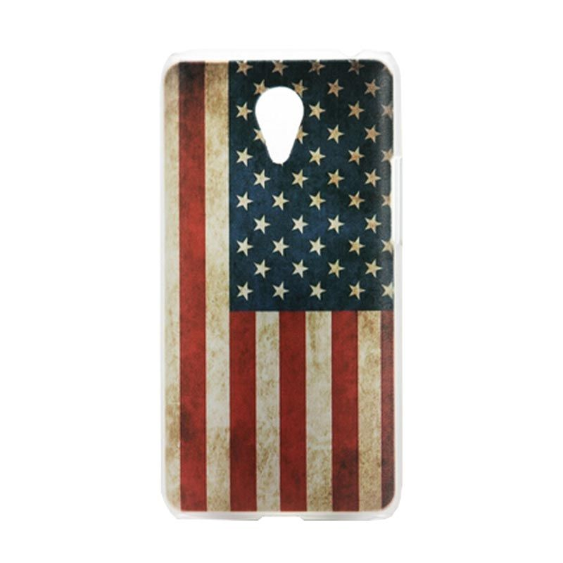 Kimi Custom Printing American Flag Multicolor Back Cover Casingfor Xiaomi Redmi Note