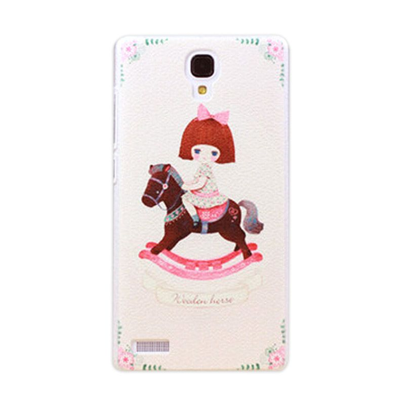 Kimi Custom Printing Carnival Baby Multicolor Back Cover Casing for Xiaomi Redmi Note
