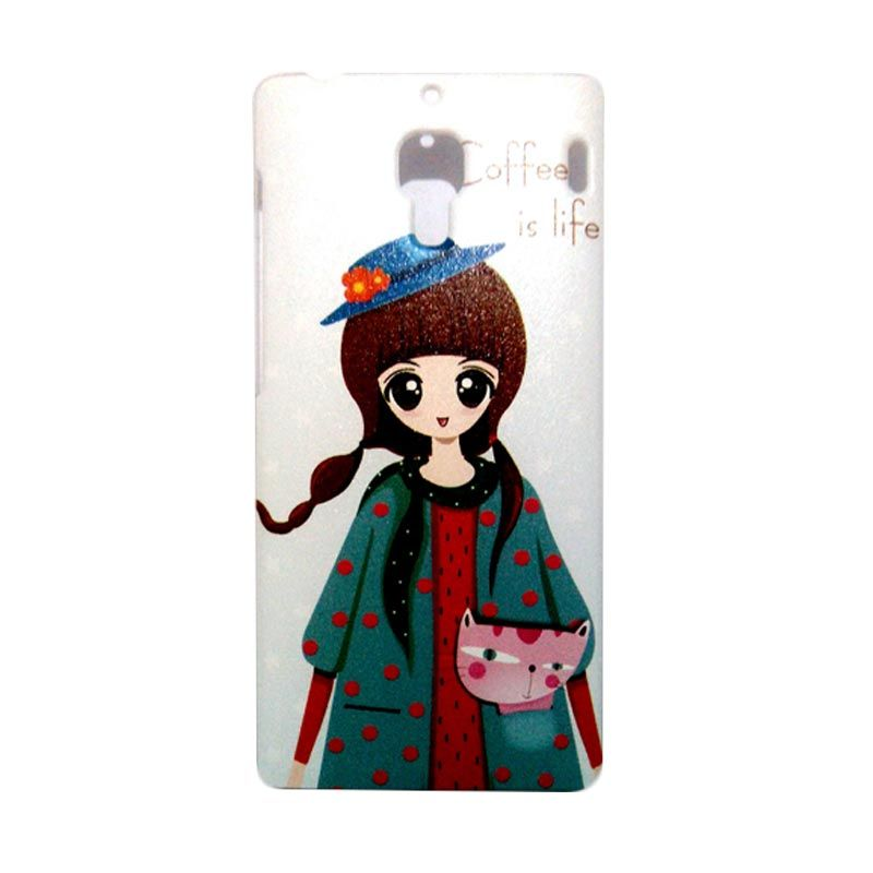 Kimi Custom Printing Coffee is Life Back Cover Casing for Xiaomi Redmi 1S