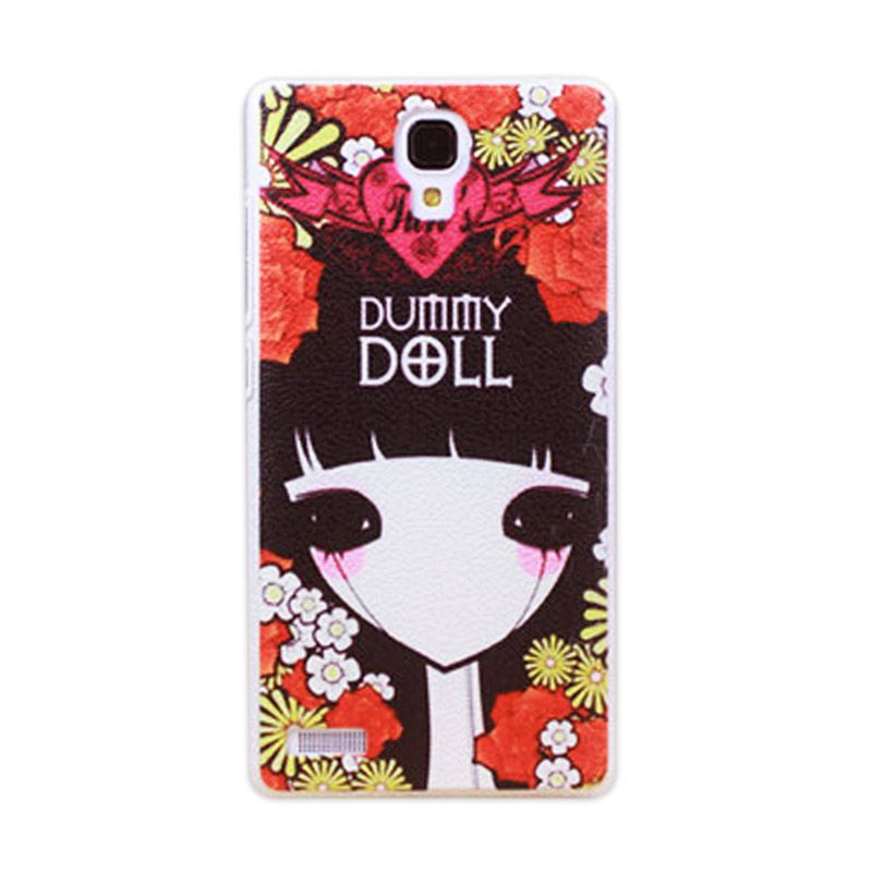 Kimi Custom Printing Fashion Korean Dummy Doll Back Cover Casing for Xiaomi Redmi Note
