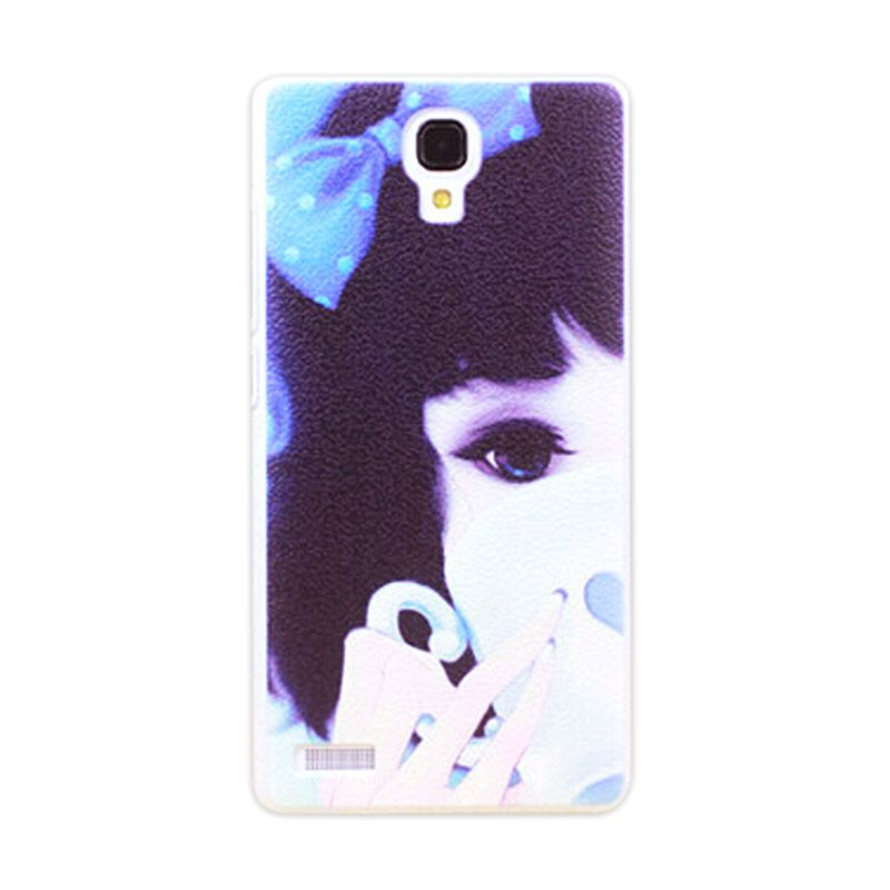 Kimi Custom Printing Girly Dolly Multicolor Back Cover Casing for Xiaomi Redmi Note