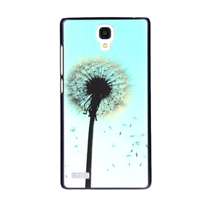 Kimi Custom Printing Blue Spring Biru Casing for Xiaomi Redmi Note