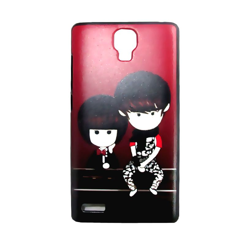 Kimi Custom Printing Couple Gangsta Casing for Xiaomi Redmi Note
