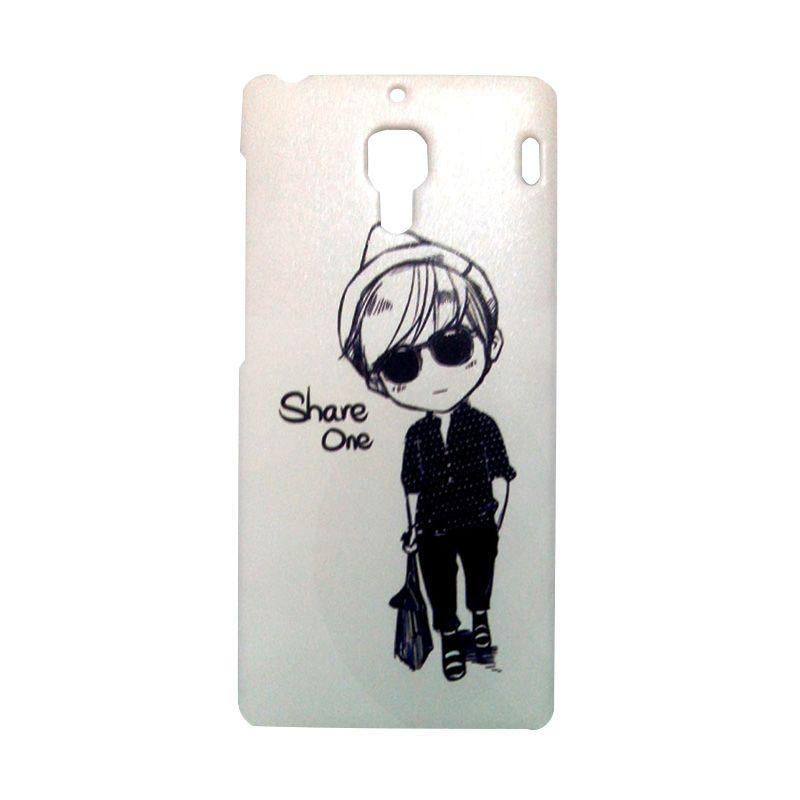 Kimi Custom Printing Fashion Korean Comic Boy Casing for Xiaomi Redmi 1S