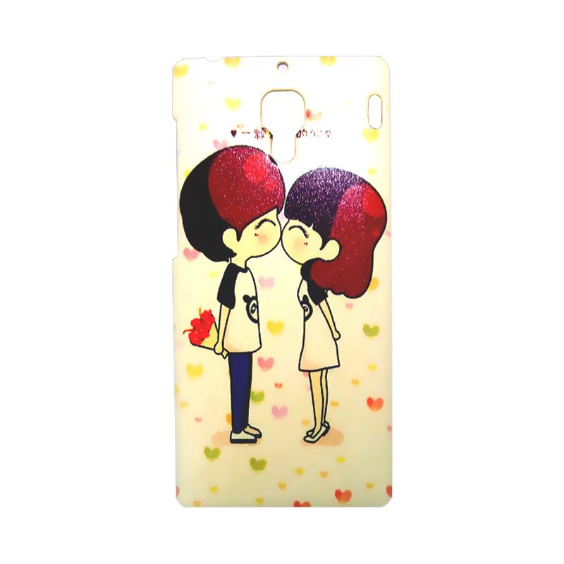 Kimi Custom Printing Fashion Korean Couple In Love Casing for Xiaomi Redmi 1S