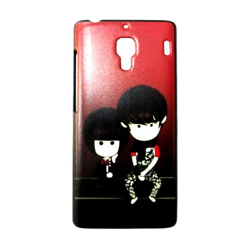 Kimi Custom Printing Fashion Korean Cute Anime Couple Casing for Xiaomi Redmi 1S