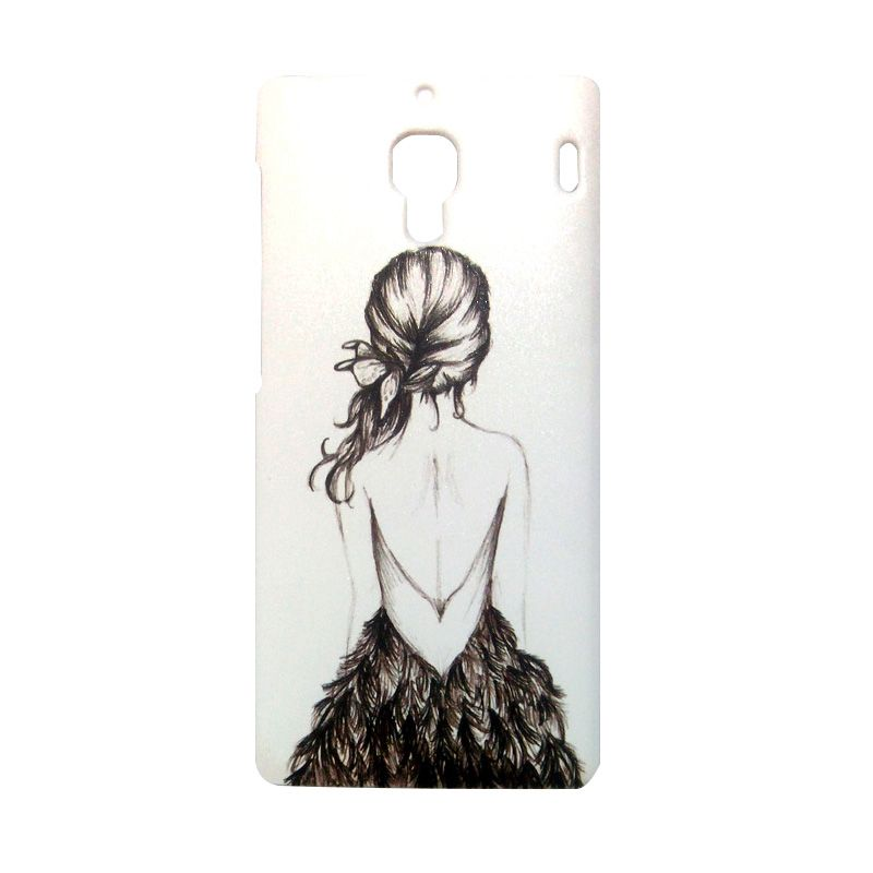 Kimi Custom Printing Fashion Korean Girl on Waiting Casing for Xiaomi Redmi 1S
