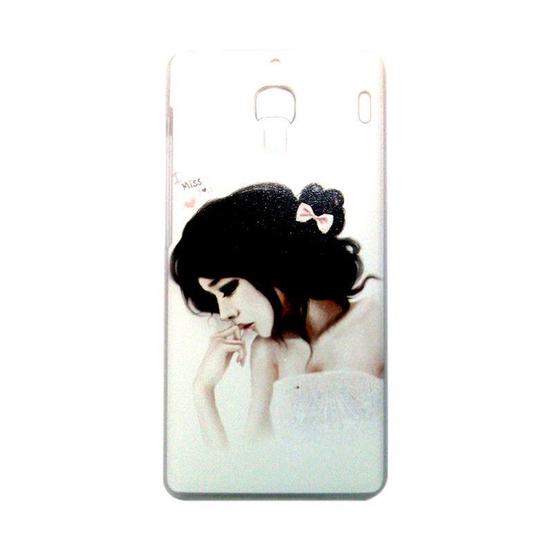 Kimi Custom Printing Fashion Korean Japanese Lady Casing for Xiaomi Redmi 1S