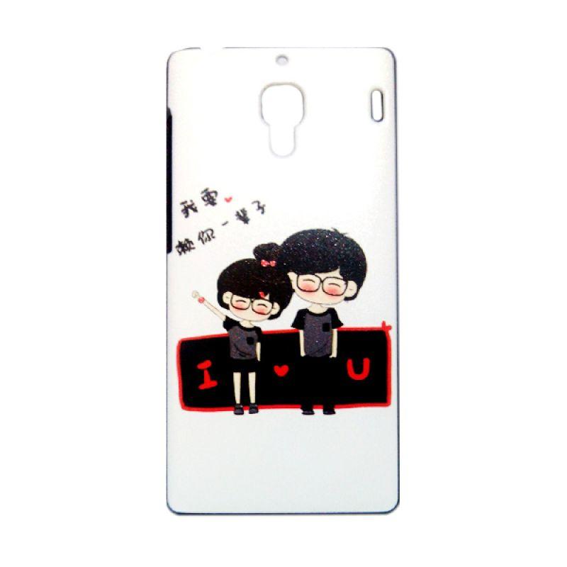 Kimi Custom Printing Fashion Korean Lovely Couple Casing for Xiaomi Redmi 1S