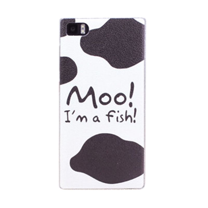 Kimi Custom Printing Fashion Korean Moo Casing for Xiaomi Redmi 1S