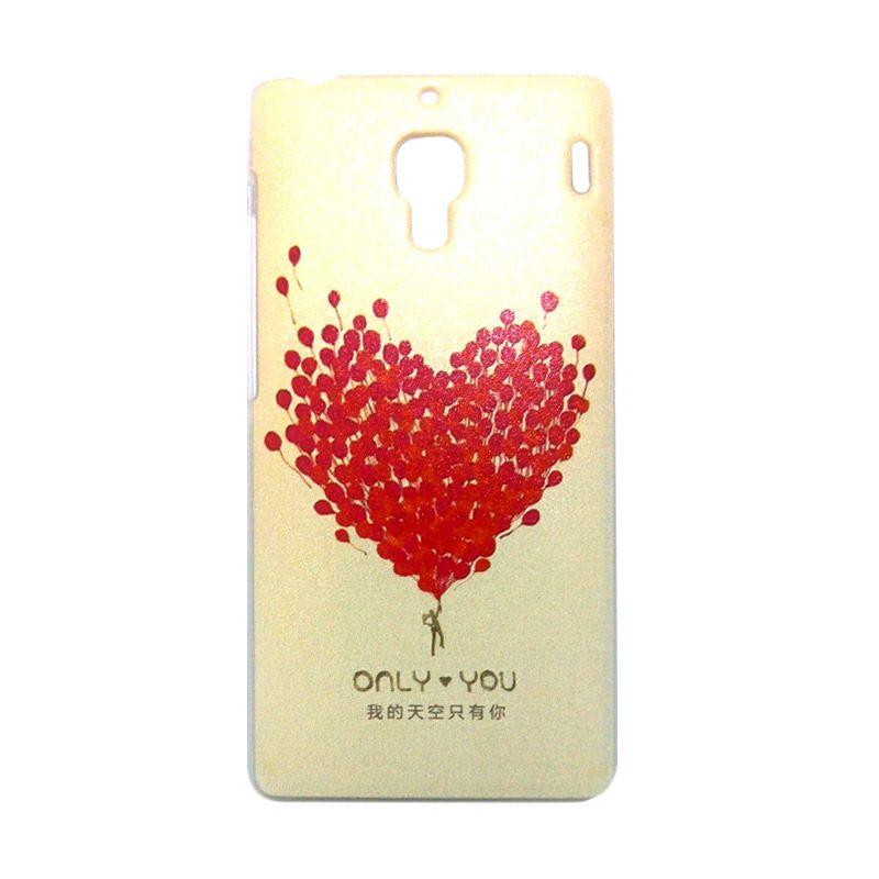 Kimi Custom Printing Fashion Korean Red Love Casing for Xiaomi Redmi 1S