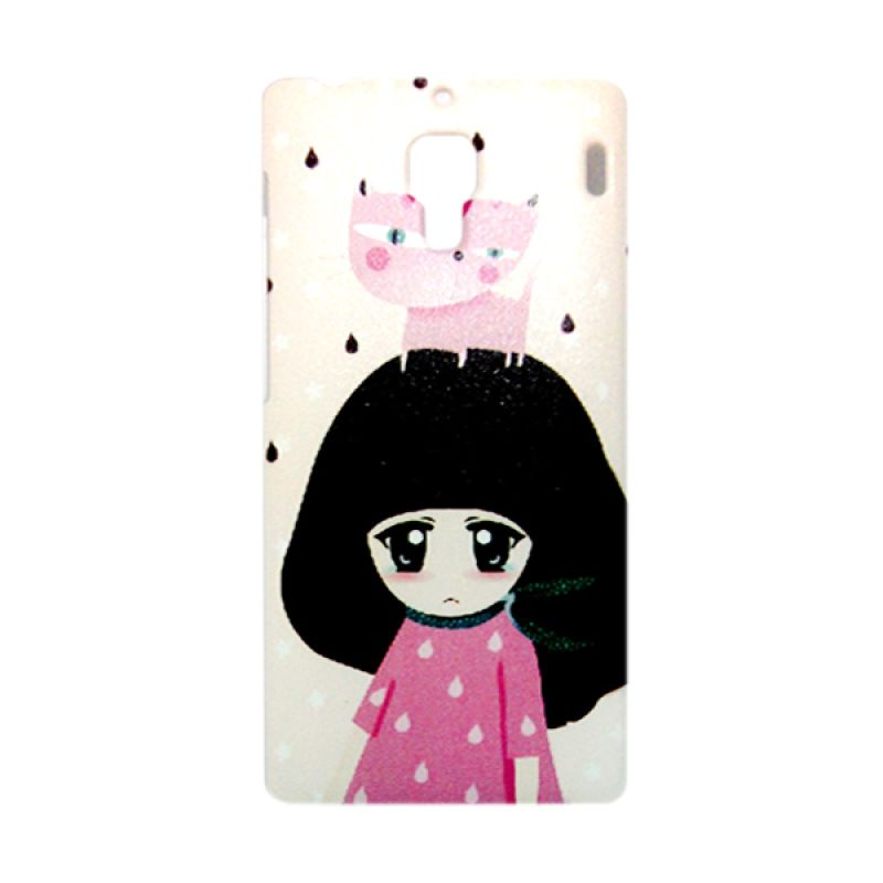 Kimi Custom Printing Fashion Korean Snowy Girl Casing for Xiaomi Redmi 1S