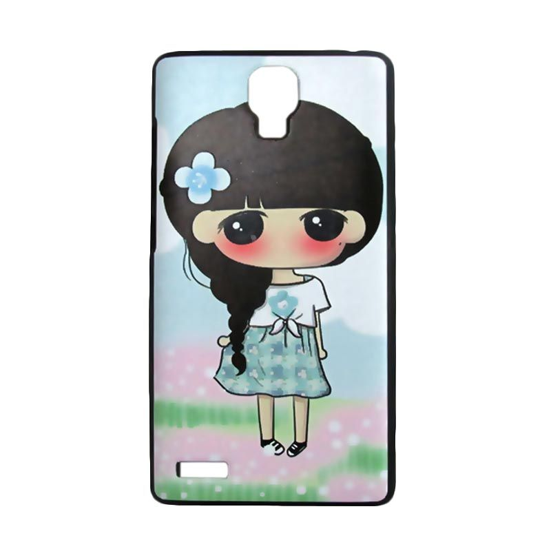 Kimi Custom Printing Girly Jesse Multicolor Casing for Xiaomi Redmi Note