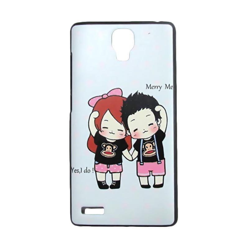 Kimi Custom Printing Marry Me Putih Casing for Xiaomi Redmi Note