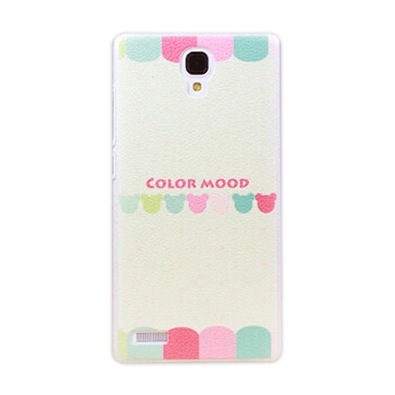 Kimi Custom Printing Korean Style Color Mode Casing for Xiaomi Redmi Note