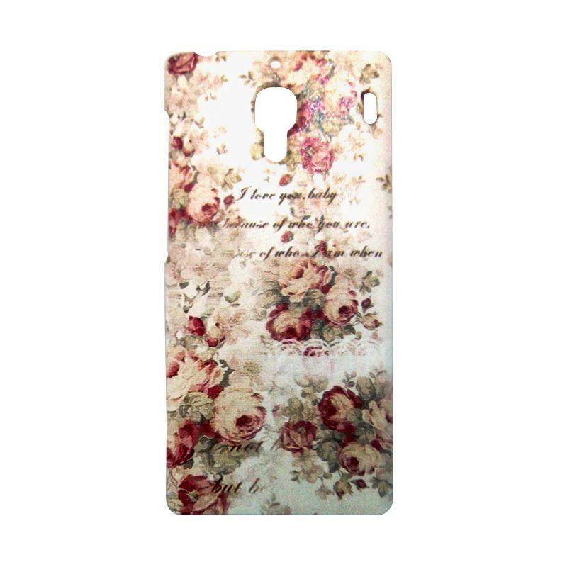 Kimi Custom Printing Vintage Rose Casing for Xiaomi Redmi 1S