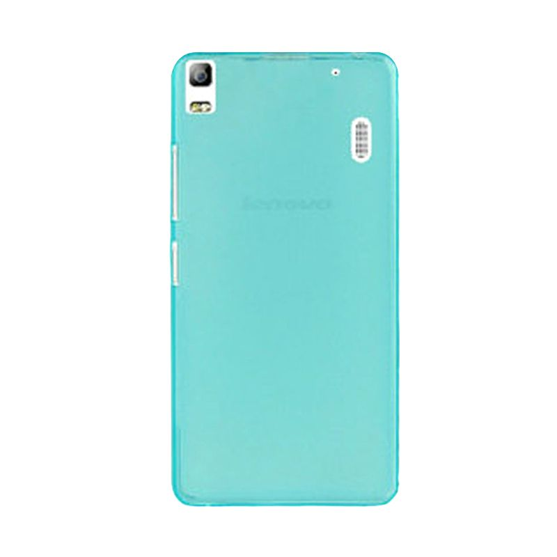 Kimi Note Ultra Thin Crystal TPU Pudding Case Original Clear Blue Casing for Lenovo A7000 K3