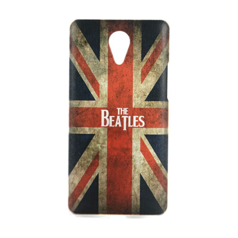 Kimi Printing Beatles American Biru Back Cover Casing for Xiaomi Redmi Note