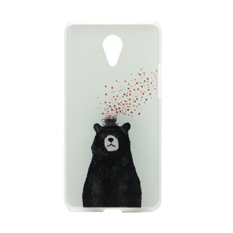 Kimi Printing Pollar Bear Putih Back Cover Casing for Xiaomi Redmi Note