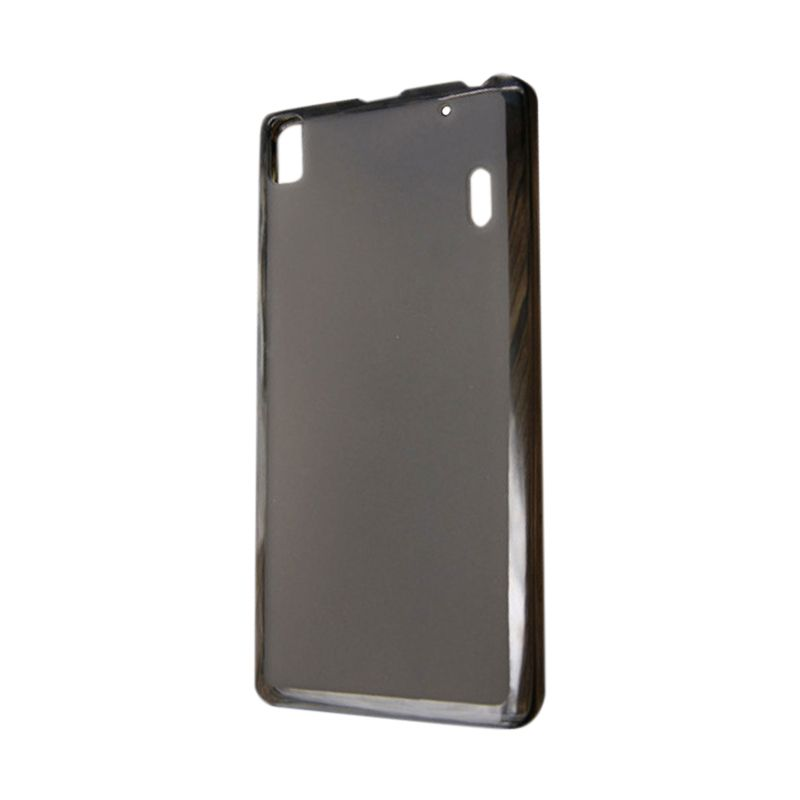 Kimi Ultra Pudding Case Original Clear Black Casing for Lenovo A7000 K3 Note