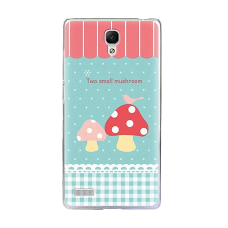 Max Korean Cute Picture Mushroom Casing for Xiaomi Redmi Note