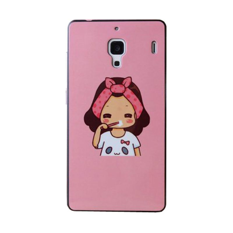 Max Korean Cute Girl Hard Casing for Xiaomi Redmi 1S