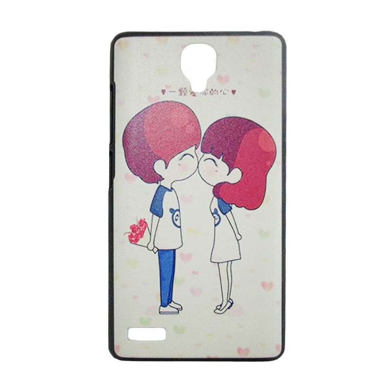 Max Cute Korean Style Couple In Love Casing for Xiaomi Redmi Note