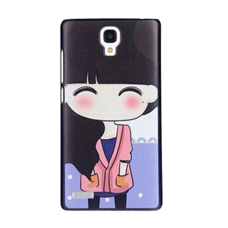 Max Cute Korean Girl Casing for Xiaomi Redmi Note