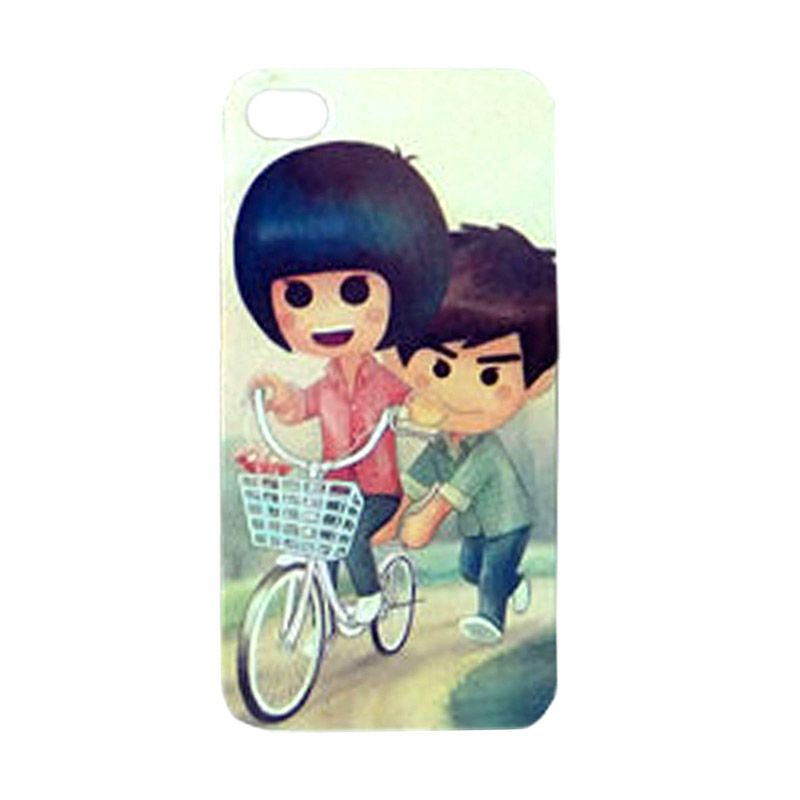 Max Custom Couple of Bike Ultra Fit Casing for iPhone 4 or 4S