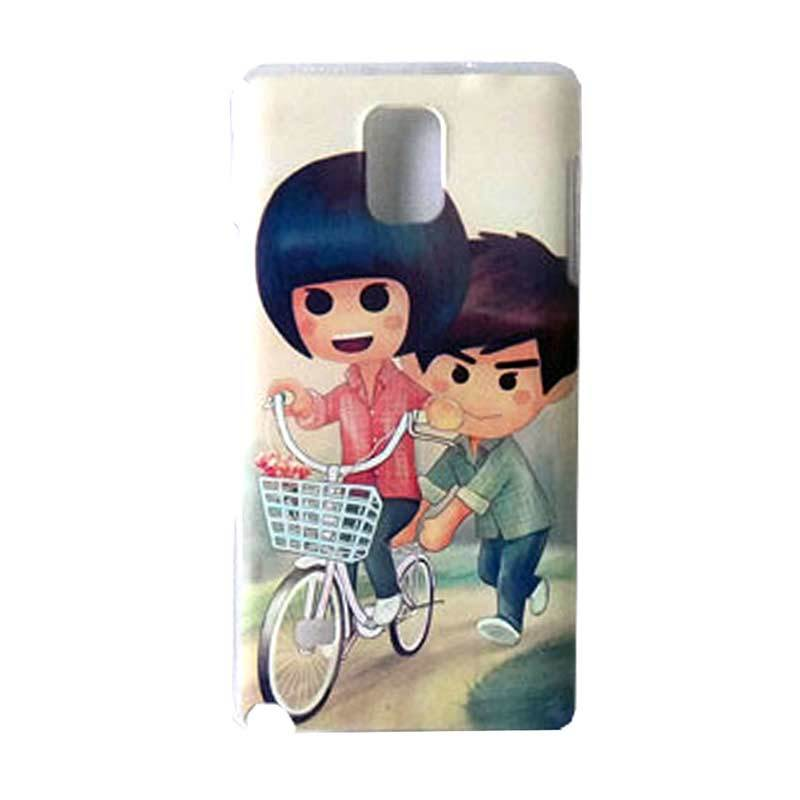 Max Custom Couple of Bike Ultra Fit Casing for Galaxy Note 4