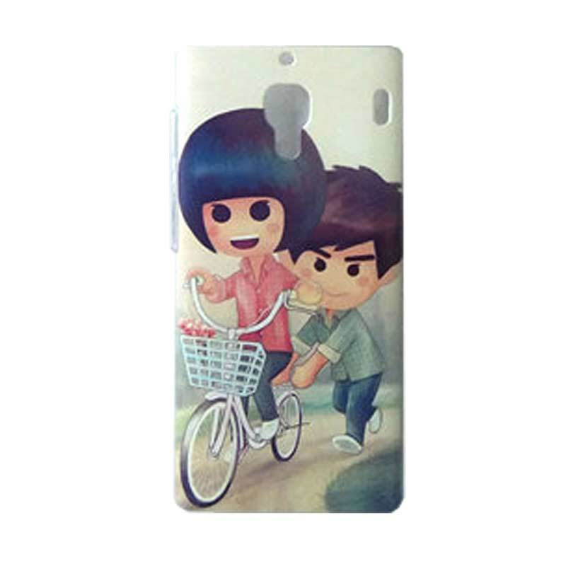 Max Custom Couple of Bike Ultra Fit Casing for Xiaomi Redmi 1S