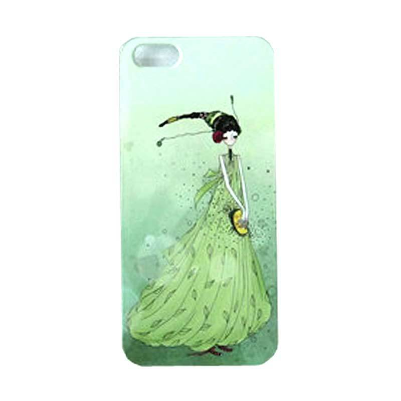 Max Custom Princess In Green Ultra Fit Casing for iPhone 5 or 5S