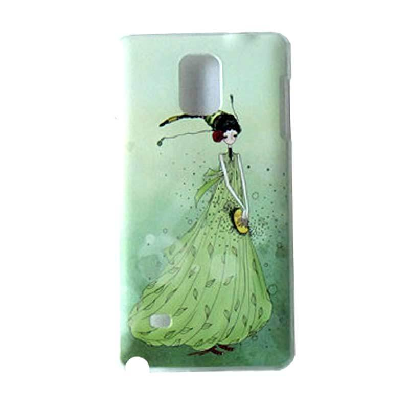 Max Custom Princess In Green Ultra Fit Casing for Galaxy Note 4