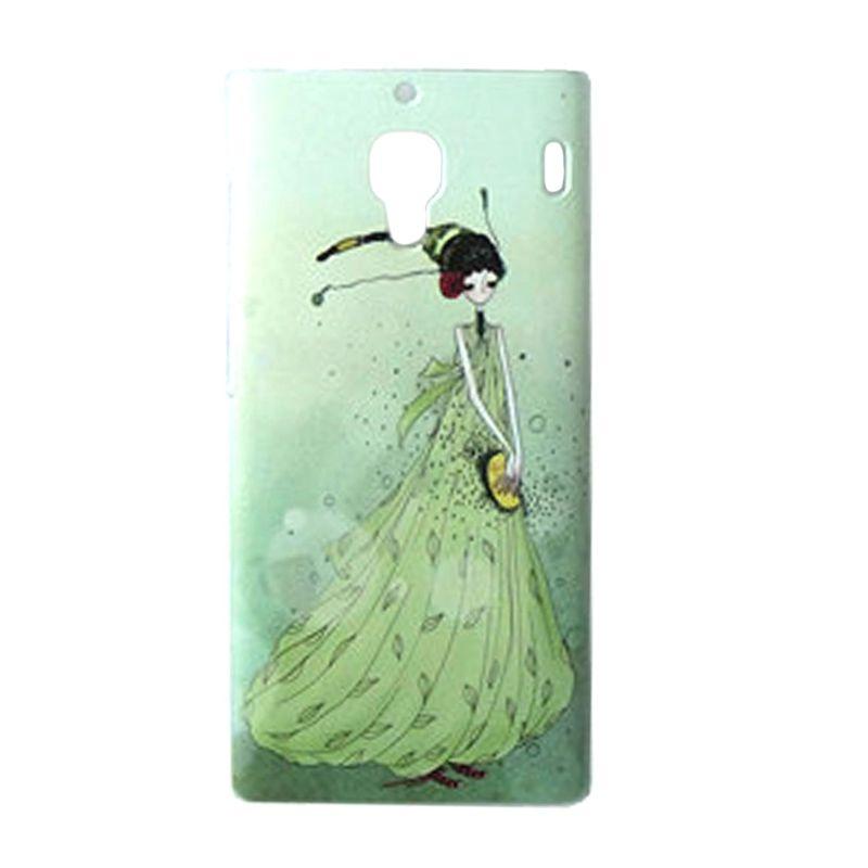Max Custom Princess In Green Ultra Fit Casing for Xiaomi Redmi 1S