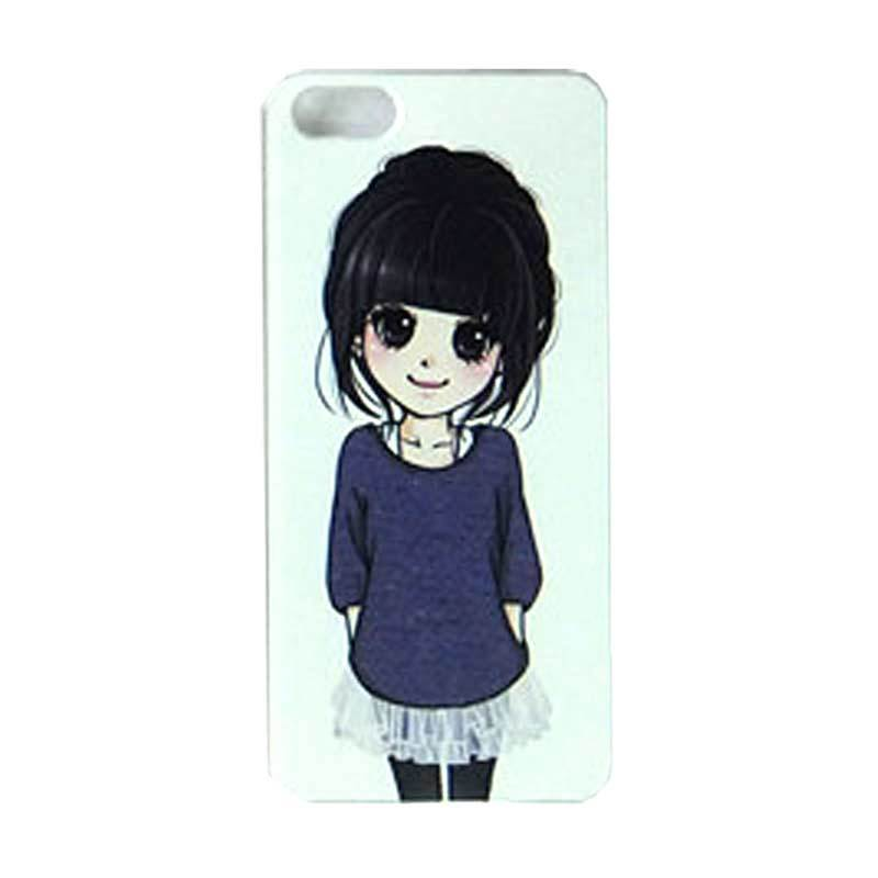 Max Custom Simple Cute Girl Ultra Fit Casing for iPhone 4 or 4S
