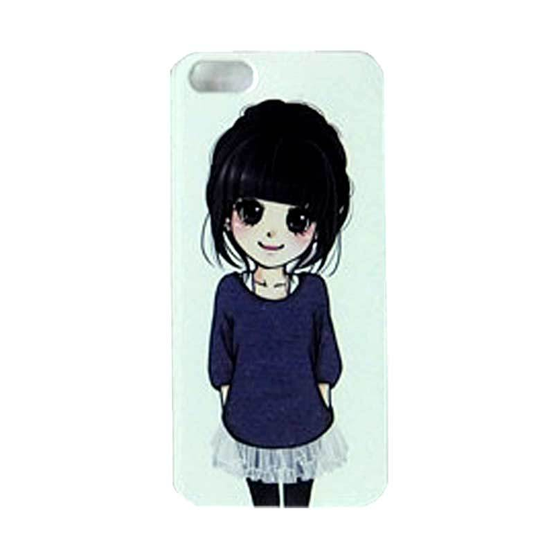 Max Custom Simple Cute Girl Ultra Fit Casing for iPhone 5 or 5S