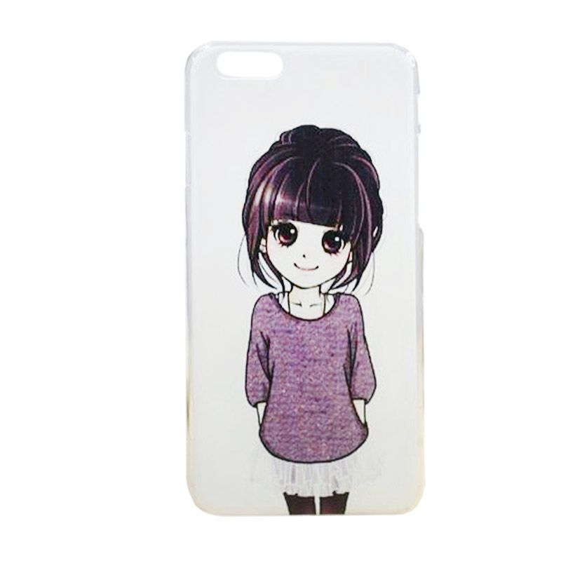 Max Custom Simple Cute Girl Ultra Fit Casing for iPhone 6