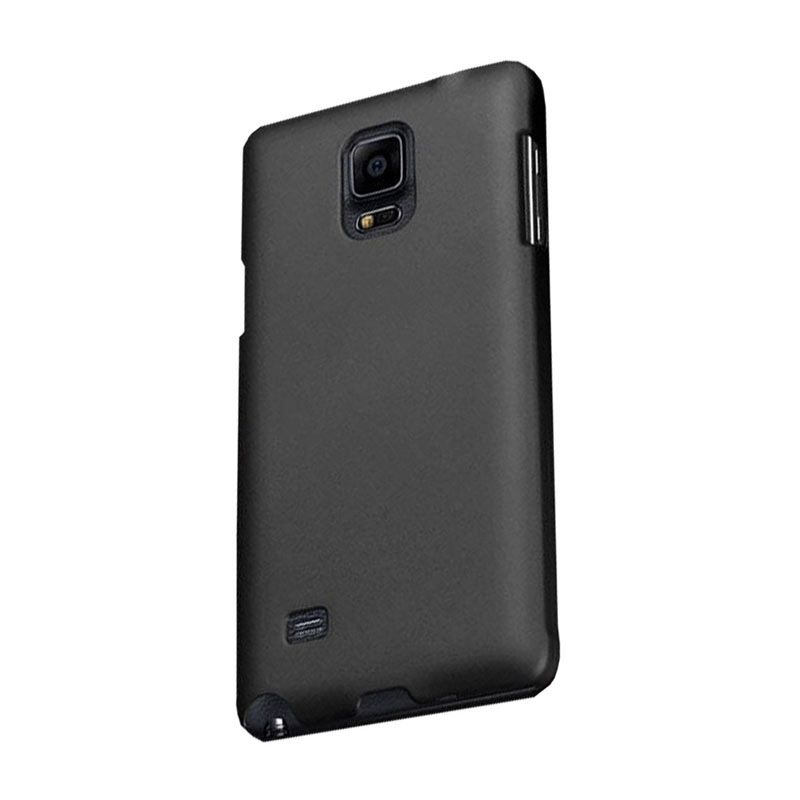 Max Ultra Thin Hitam Casing for Samsung Galaxy Note 4
