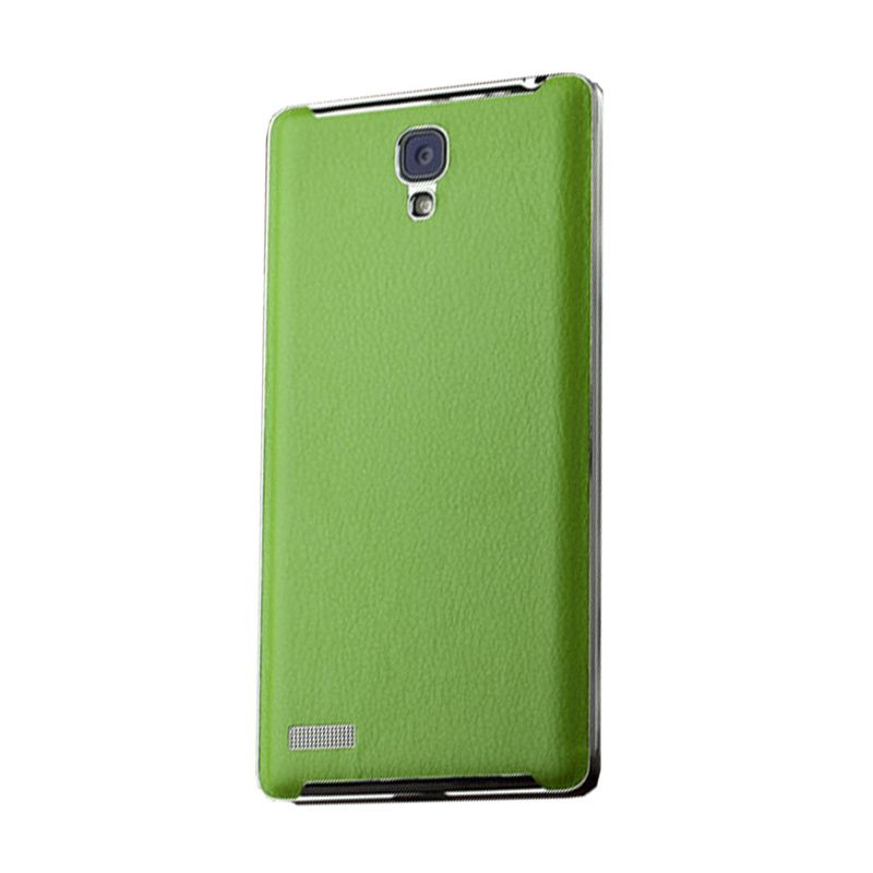 Max Hard Leather Green Casing for Xiaomi Redmi Note
