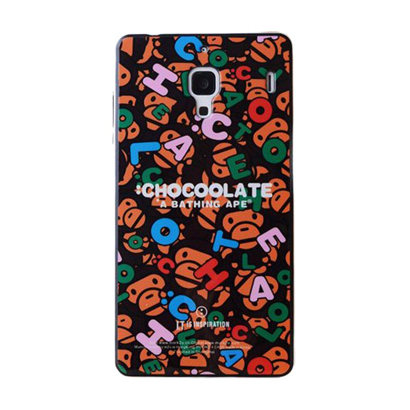 Max Korean Chocolate Alphabeth Casing for Xiaomi Redmi 1S
