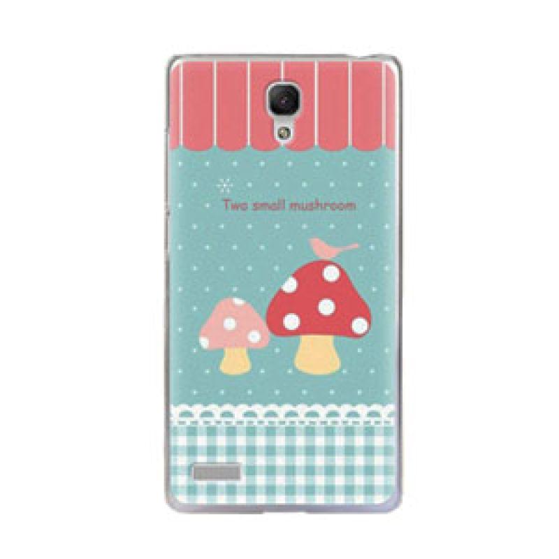 Max Korean Cute Mushroom Hard Casing for Xiaomi Redmi Note