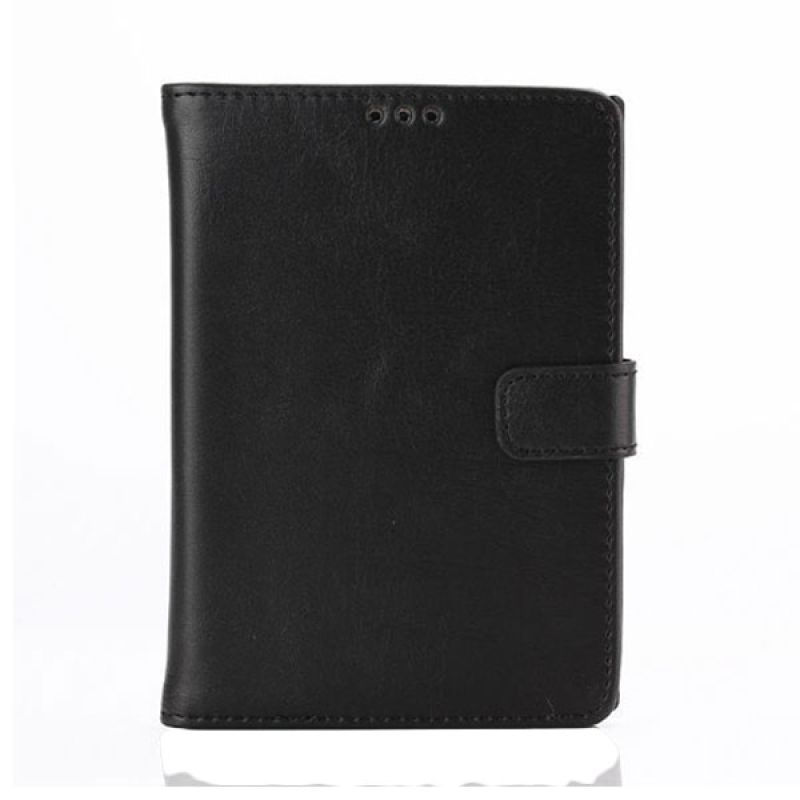 Max Leather Flip Wallet Fashion Black Casing for Blackberry Passport