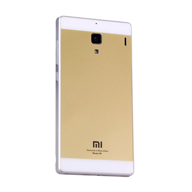 Max Original Gold Hardcase Casing for Xiaomi Redmi 1S