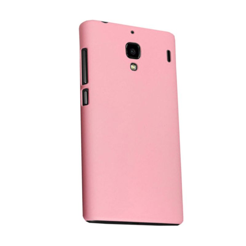 Max Premium Fashion Protective Fit Back Baby Pink Casing for Xiaomi Redmi 1S